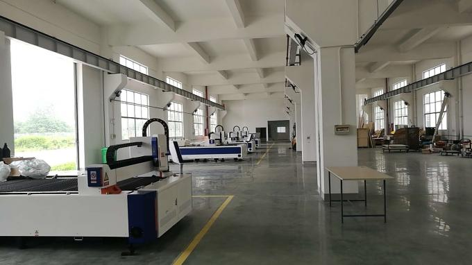 High Speed CNC Metal Laser Cutting Machine For Stainless Steel / Aluminum