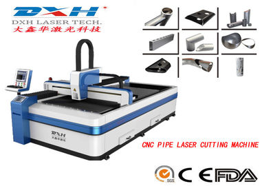 Red Light Positioning Metal Laser Cutting Machine Computer Control Technology