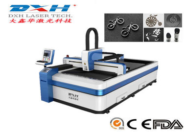 Fiber Metal Laser Cutting Machine / 3d Laser Metal Cutting Machine With Water Cooling System