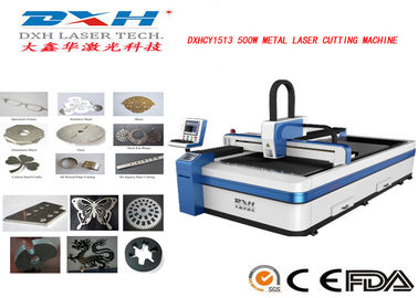 Computerized CNC Laser Metal Cutting Machine / CNC Laser Cutter Engraver 380V/50HZ