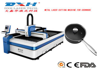 China 6mm Cutting Thickness CNC Metal Laser Cutting Machine For Cookware Artware factory