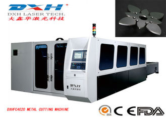380V/50HZ CNC Laser Cutting And Engraving Machine , Iron Laser Cutting Machine