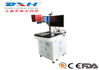 China High Efficiency Co2 Laser Marking Machine For Leather 45,000 Hours Using Life 30w factory