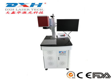 China Small Laser Marking Machine , Co2 Laser Line Marking Machines For Organic Materials factory