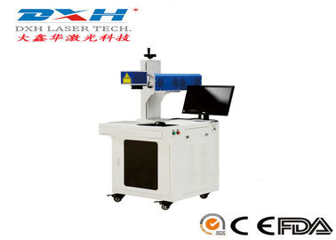 China Logo Printing Automatic Laser Marking Machine Compact Structure Customized Marking Area factory