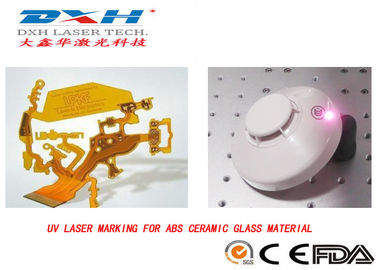 China Micropore Cold Processing UV Laser Marking Machine For Consumer Electronic factory