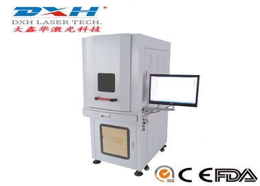 China Enclosed 10w Laser Marking Machine / UV Laser Engraver High Polymer Material Applied factory