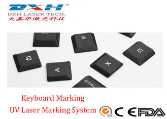China High Speed UV Laser Marking Machine With Motion System / Class 1 Enclosure factory