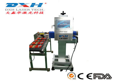 High Precision Automatic Laser Marking Machine 30W Co2 Laser Marker For Glass Products