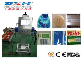 China Customized Auto Feed Automatic Laser Marking Machine Laser Serial Number Engraver factory