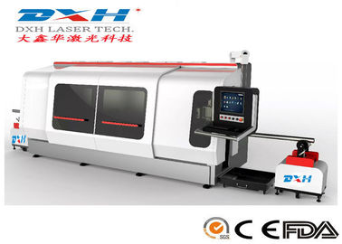 High Precision Metal Laser Cutting Machine CNC Laser Tube Cutter 1000W