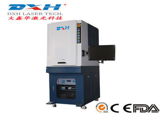 Portable Metal Marking Machine , Compact Green Colour Laser Engraving Machine