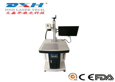 China IPG / Raycus Jewellery Laser Marking Machine , Small Laser Etching Machine For Metal factory