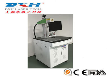 China Industrial Laser Marking Equipment , Aluminum Laser Engraving Machine For License Plate factory