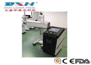 China QR Code Laser Engraving Machine , CO2 Laser Numbering Machine For Plastic / Wood factory