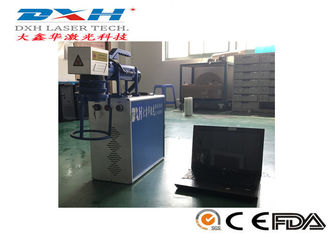 China Handle Automatic Laser Marking Machine For Metal Watches Camera Fiber Laser Source factory