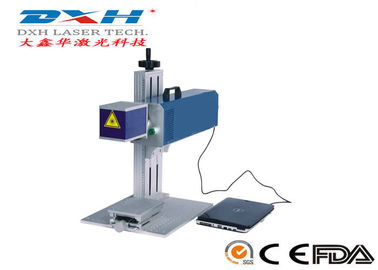 China Non Metal Material Mini Co2 Laser Marking Machine 220V/50HZ Power Supply factory