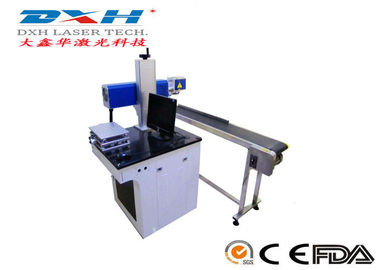 China Medical Packaging Co2 Laser Marking Machine Flying Type >20000hrs Laser Life factory