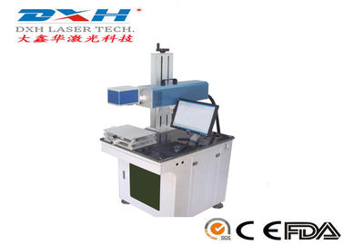 Small Integrated CO2 Laser Engraving Marking Machine For Mobile Phone Cover EZ-CAD Control