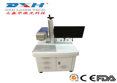 Leather Laser Marking Machine , Laser Glass Etching Equipment ≤7000mm/S Speed