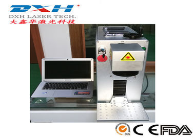Portable Fiber Laser Marking Machine For Various Logo / Character Marking