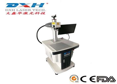 China Dynamic Fousing Fiber Optic Laser Engraving Machine For 3D Curve Surface Marking factory