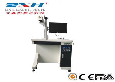 Industrial Fiber Laser Barcoding Machine , High Speed Fiber Laser Etching Machine