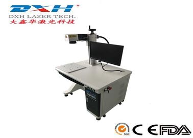 China High Precision Jewelry Laser Engraving Machine , Fiber Laser Printing Machine On Metal factory