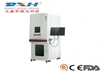 China High Precision UV Laser Marking Machine With Cabinet Protection Energy Saving factory