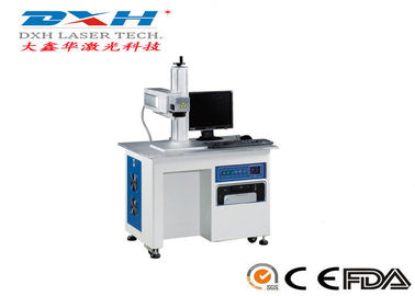 10-150khz Animal Ear Tag Laser Marking Machine , 10W Jewelry Etching Machine