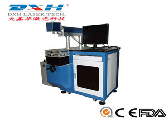 YAG Laser Metal Tag Engraving Machine , Desktop Laser Marking Machine For Steel
