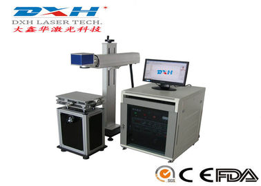 Diode Pumped YAG Laser Marking Machine Laser Engraver Printer For Metal 20-80khz