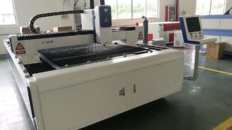 3 Axis CNC Laser Pipe Cutting Machine , Sheet Metal Laser Cutting Machine Horizontal