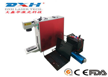 China Portable Laser Marking Machine , Mini Fiber Laser Marking Machine 20W 30W 50W factory