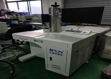 China Co2 IPG Laser Source Automatic Laser Marking Machine For Plastic EZCAD Control Software factory
