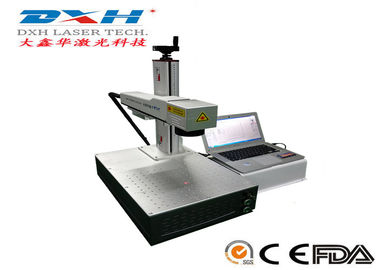 Fully Automatic Fiber Laser Marking Machine Usb Laser Engraver Online Editing Function