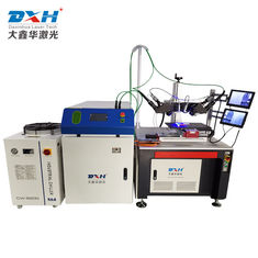 Double Welding Heads Fiber Laser Welding Machine For Battery Tabs , High Efficiency