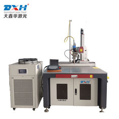 Continuous Fiber Laser Welding Machine , Mini Laser Welding Machine 300*200mm