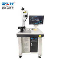 Mini 20W Fiber Laser Marking Machine , Laser Marking Systems For Glass Bangles Marking