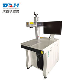 30W 50W 100W Fiber Laser Marking Machine For PVD Glass Bracelet Marking Logos