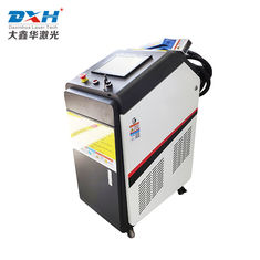 100W Cabinet Moving Laser Metal Cleaner For Rust Removal And Oil Removing