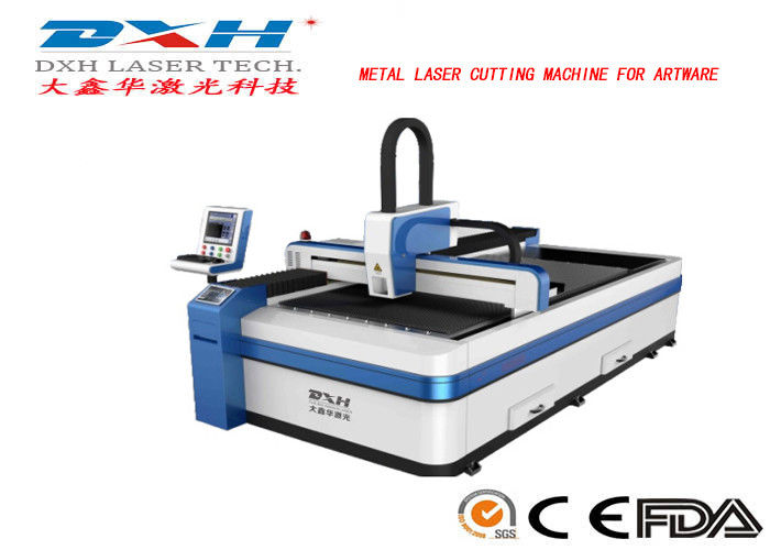 High Speed CNC Metal Laser Cutting Machine For Stainless Steel / Aluminum supplier