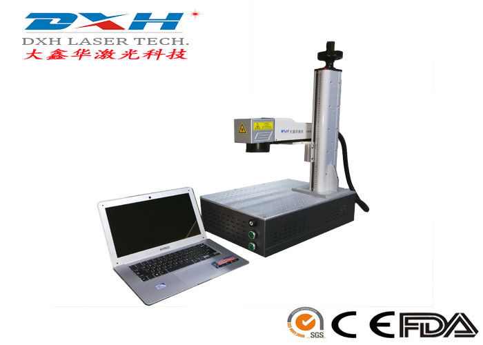 Pcb Laser Marking Machine / Laser Monogram Machine Production Numbers Printing supplier
