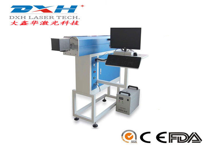 Flying Co2 Laser Carving Machine / Laser Embossing Machine Without Debugging supplier