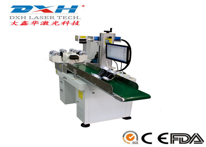 Customized Auto Feed Automatic Laser Marking Machine Laser Serial Number Engraver supplier