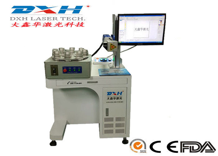 Computerized Laser Etching Equipment , Laser Carving Machine For LED Lamp supplier