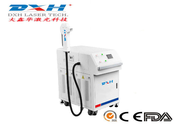 Metal Laser Cleaning Machine Laser Metal Rust Remover 200/500 Watt Deionized Water Cooling supplier