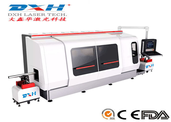 500W Metal Laser Cutting Machine / Laser Tube Cutting Machine Chiller Coolding Type supplier
