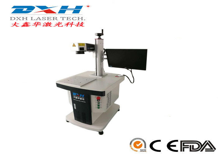 3D Fiber Laser Automatic Laser Marking Machine For Silverware Name Card supplier