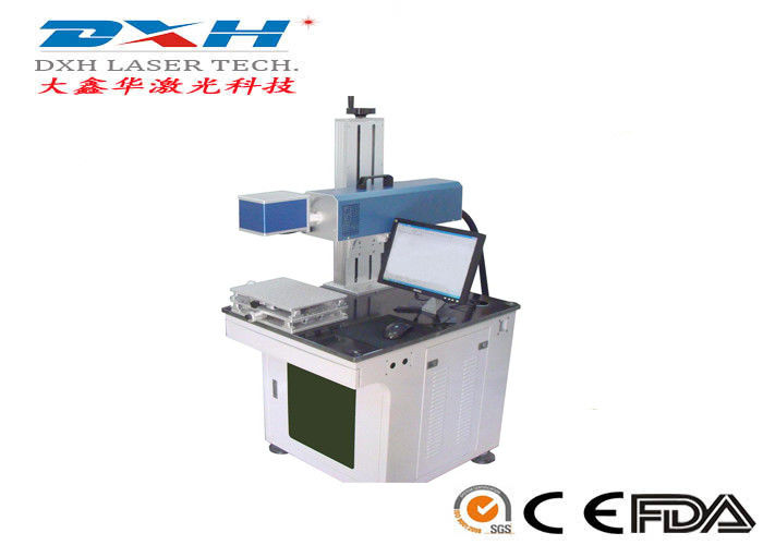 Small Integrated CO2 Laser Engraving Marking Machine For Mobile Phone Cover EZ-CAD Control supplier
